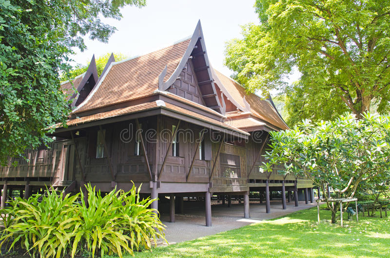 Thai House royalty free stock photography