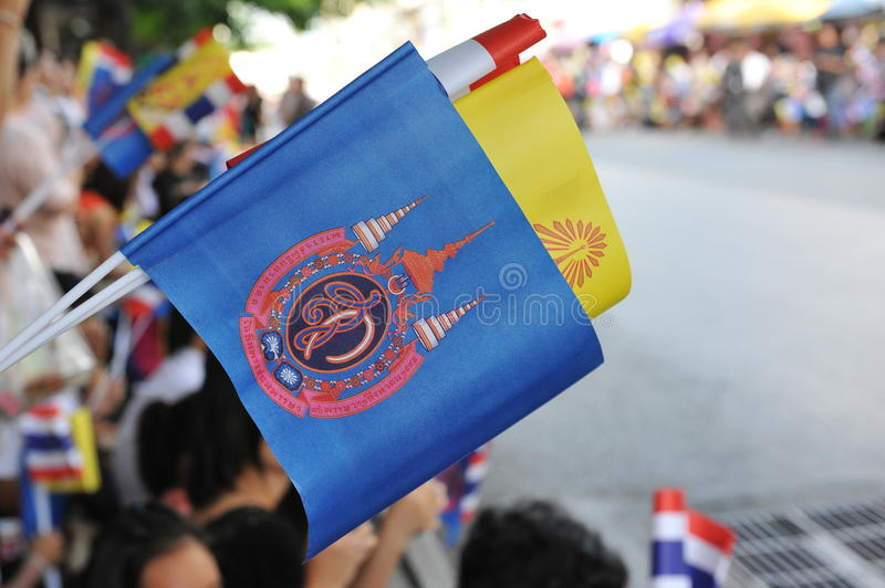 Download Thai King And Queens Motorcade Editorial Photography - Image: 32677182