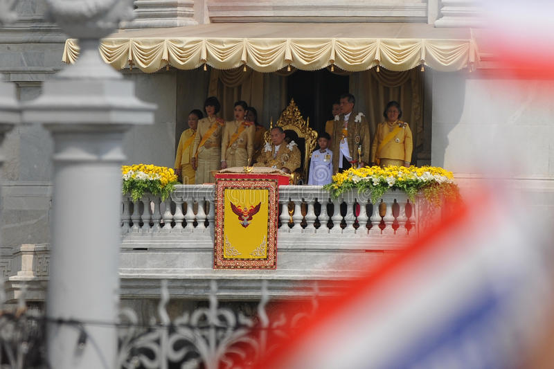 Download Thai King's 85th Birthday editorial image. Image of celebrating - 28043960