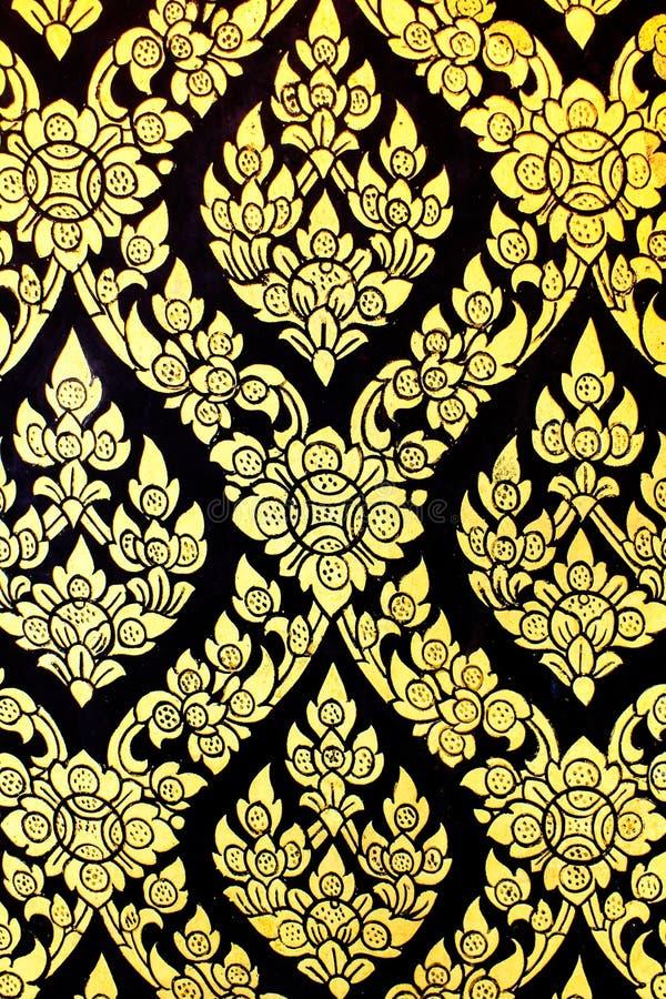 Thai konstdesign arkivbild