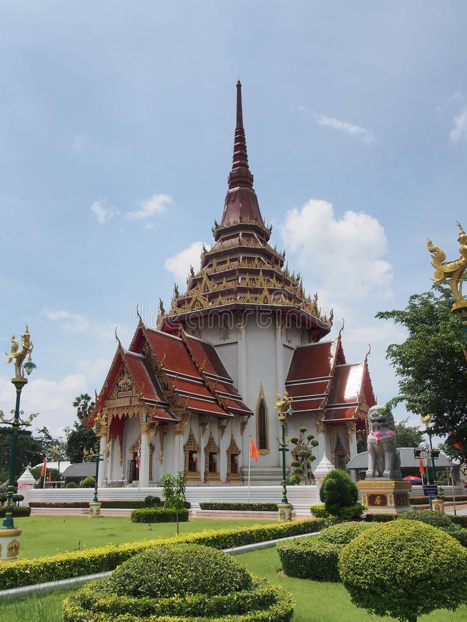 thai kyrkligt tempel arkivfoton