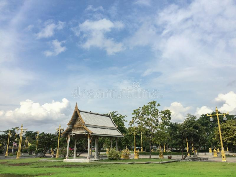 Thai leisure area royalty free stock images