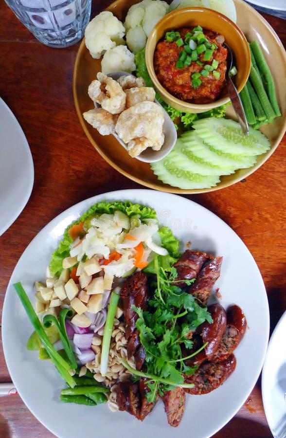 Thai food dishes stock photos