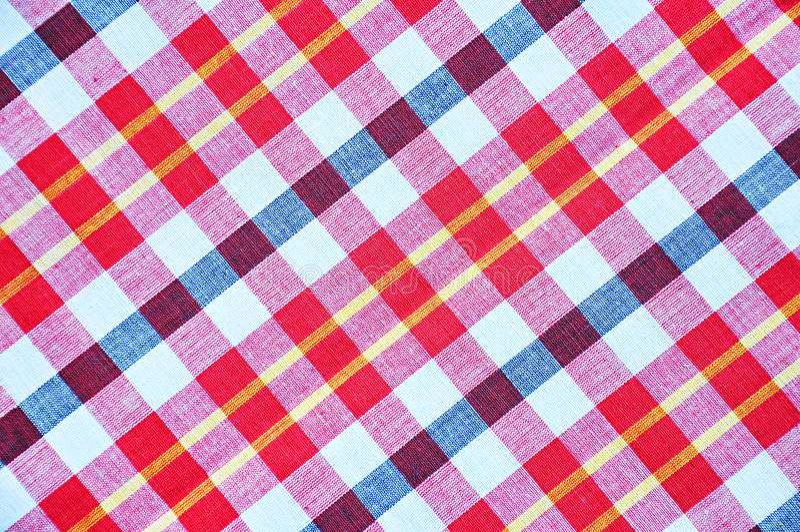 Thai loincloth fabric pattern stock photo