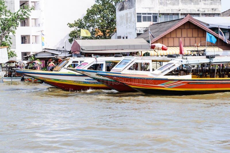 Thai Long Tail Boat Stock Photo