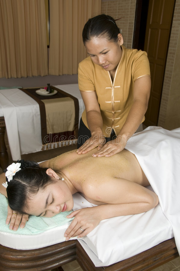 Download Thai massage 8 stock photo. Image of therapy, professional - 8835300