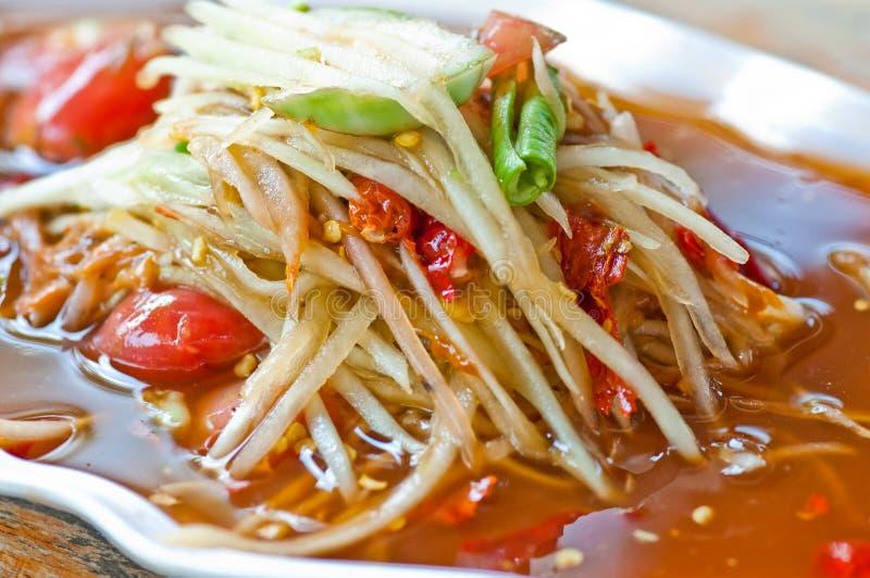 thai mat arkivbild