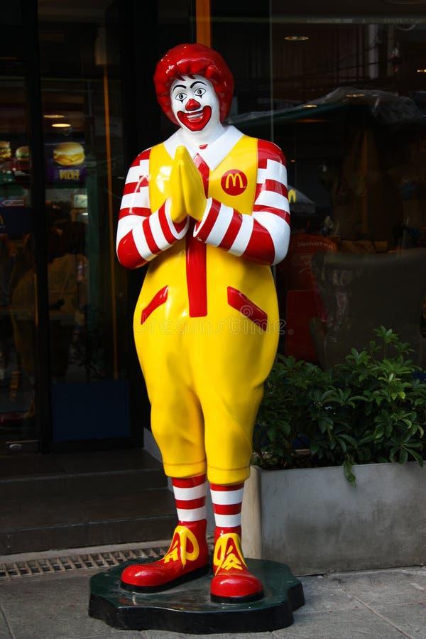 Thai McDonald's stock images