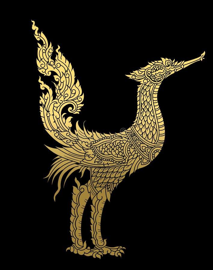 thai modell Vektor Illustartion EPS royaltyfri illustrationer