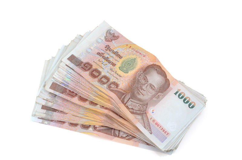 Download Thai money stock image. Image of thousand, paper, group - 26649935