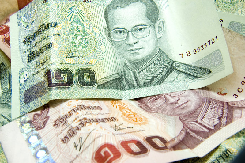Thai money stock image