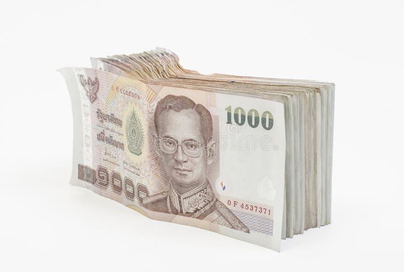 Thai money isolated stock photography