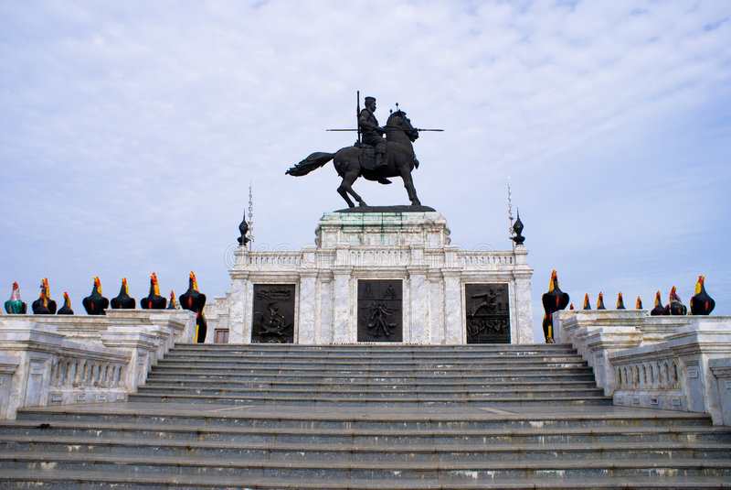 Thai Monument stock images