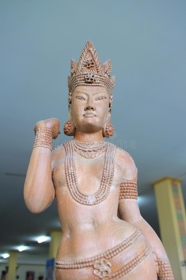 Thai mythology Angel Statue. The image of ancient Thai mythology Angel Statues. In the Thai tradition, they are considered to be angels: they were men and women stock photos
