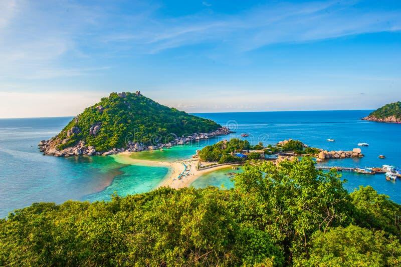 Thai Nangyuan ö arkivfoton