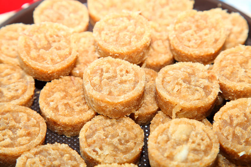 Download Thai Native Ancient Dessert Called  Kao Too. Stock Image - Image: 25239303