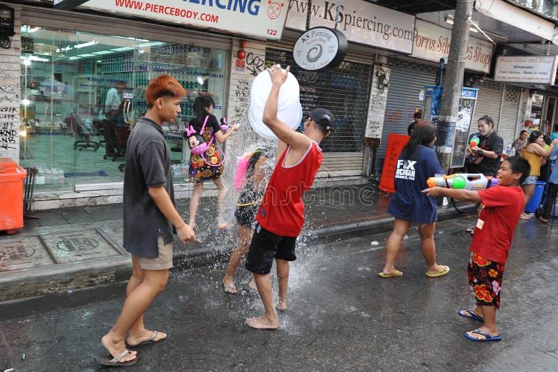 Download Thai New Year - Songkran editorial photography. Image of farang - 30498367