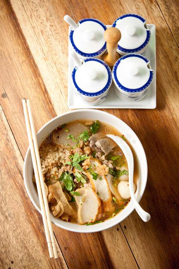 Free Thai Noodle Spicy. Royalty Free Stock Photos - 16901168