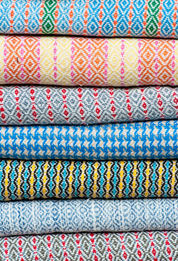 Download Thai Northeastern fabric stock photo. Image of textured - 24042152