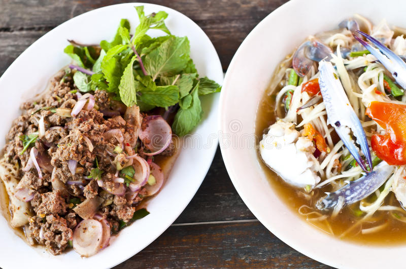Thai cuisine. royalty free stock photo