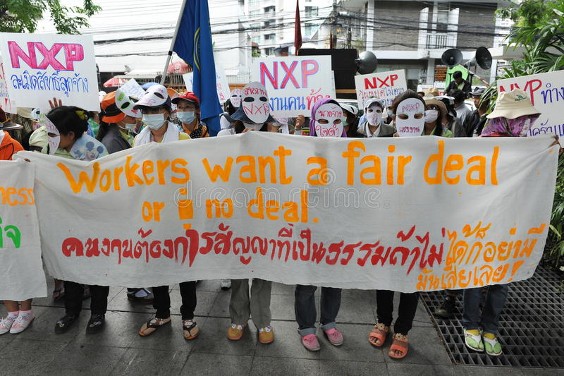Download Workers Protest editorial photo. Image of embassy, environment - 29842881