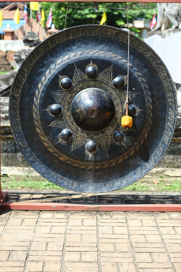 Free Thai Old Gong Royalty Free Stock Image - 18127256