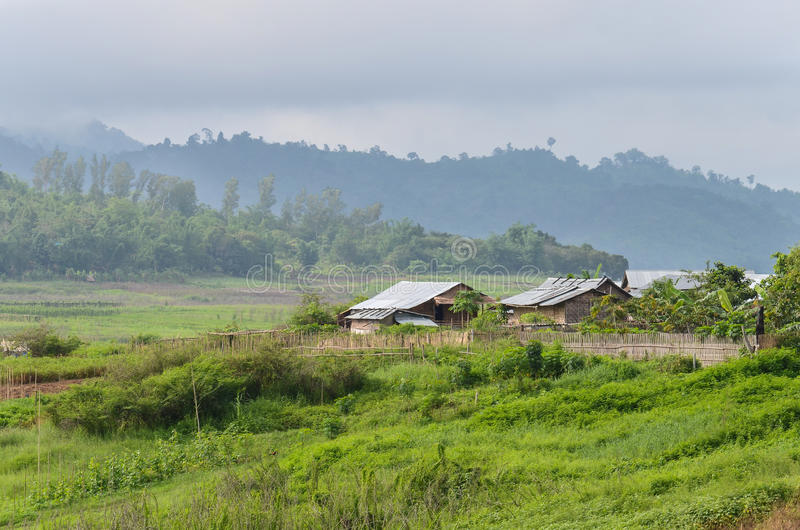 Download Thai old style Village stock image. Image of urban, countryside - 25603093