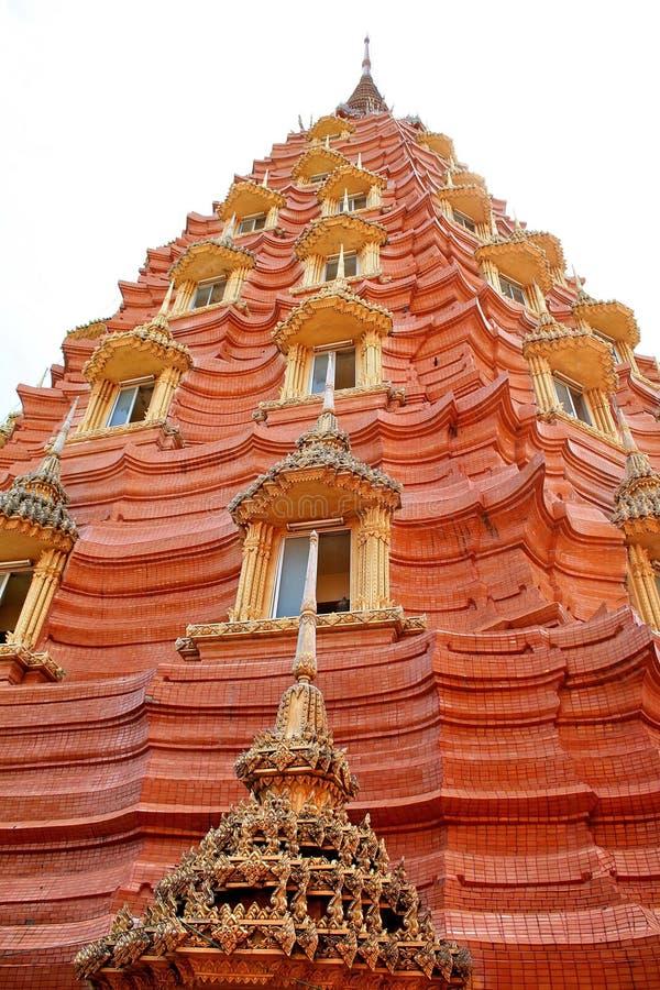 thai pagoda fotografering för bildbyråer