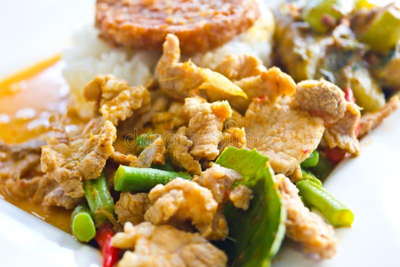 Thai panang curry stock photography