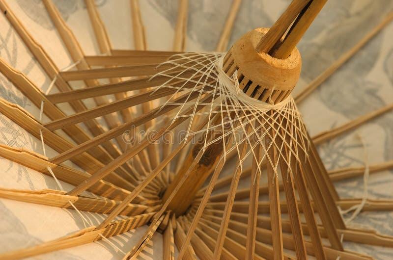 Download Thai Parasol stock image. Image of umbrella, wooden, string - 118249