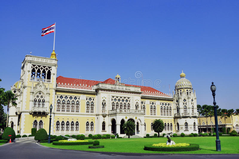 thai parlament royaltyfria foton