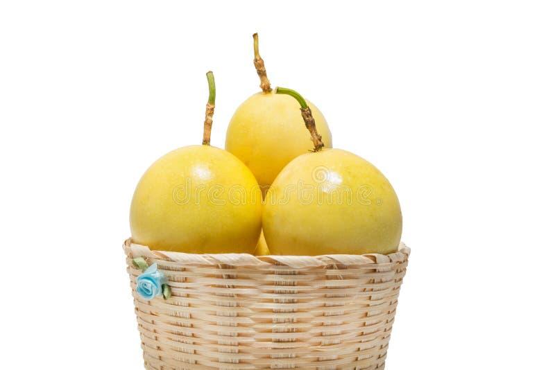 Thai passion fruit stock photos