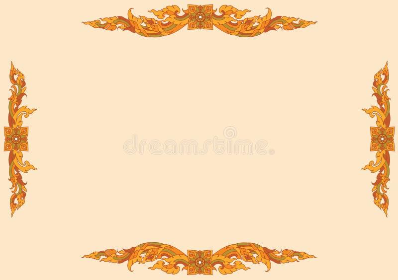Download Thai Pattern stock vector. Image of beautiful, detail - 28418440