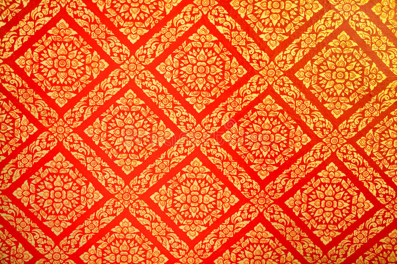 Art of asia pattern background. L thai pattern design for background,decoration stock photo