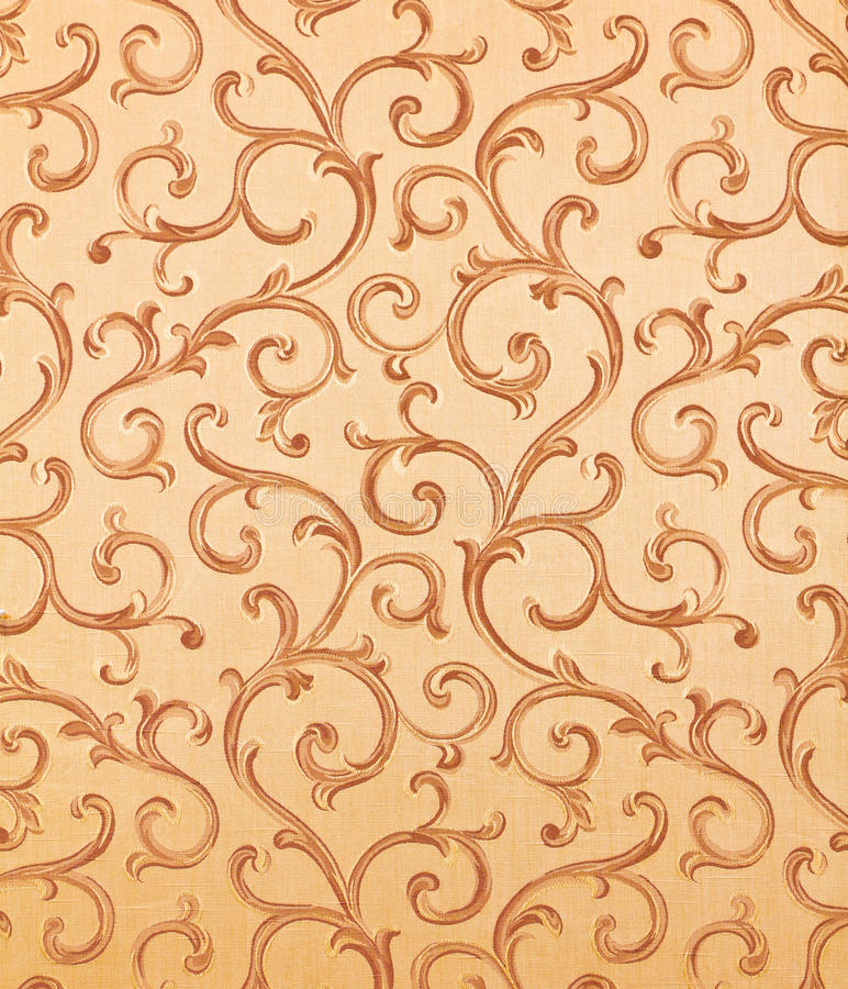 Thai pattern style on the wall royalty free stock images