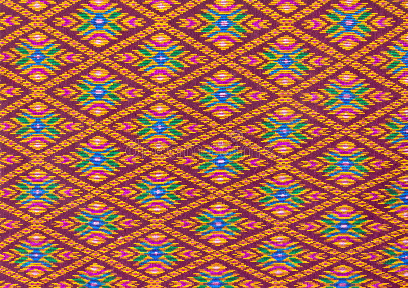 Download Thai Pattern Style On The Wrapper Stock Image - Image: 24896981