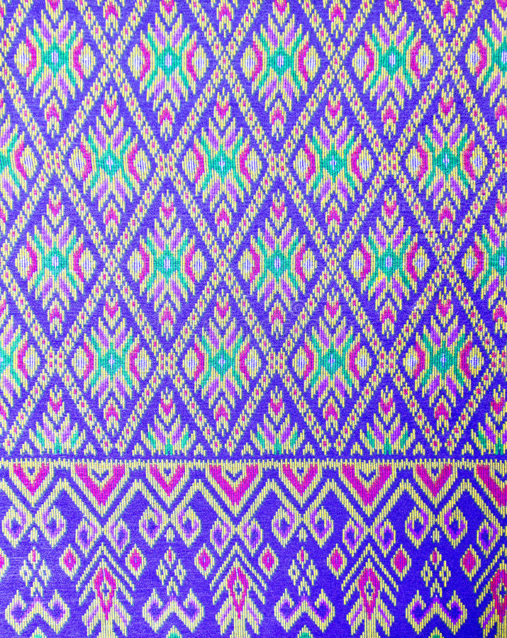 Thai pattern style on the wrapper stock photos