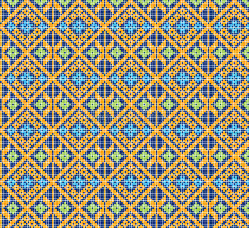 Thai pattern stock photography