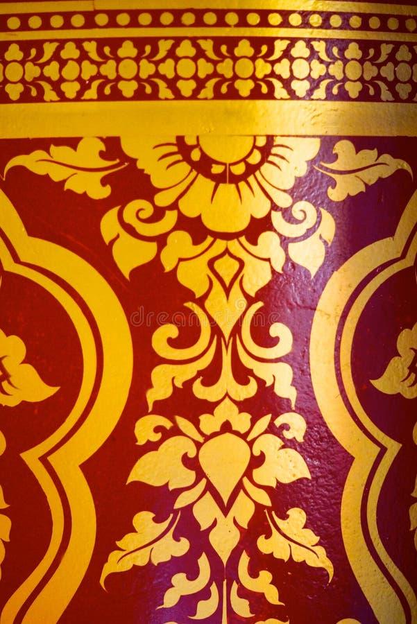 Thai pattern stock image. Image of symbol, buddhism, pillar - 40195725