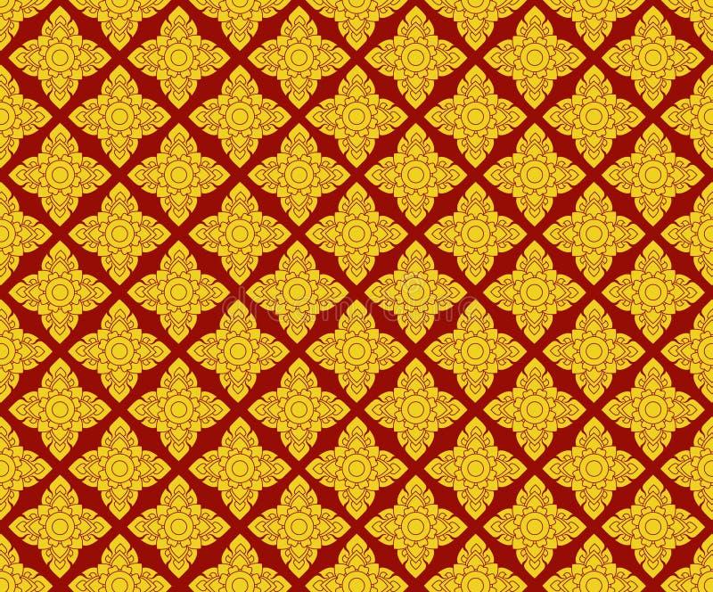 Thai patterns royalty free stock photo