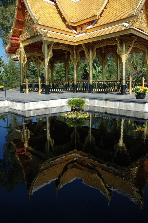Thai pavilion stock photography