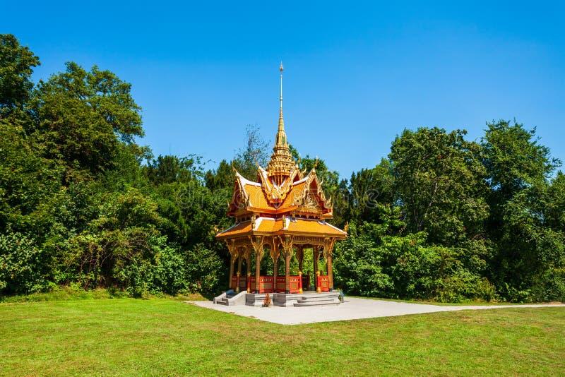 Thai-Pavillon in Lausanne, Schweiz lizenzfreie stockfotos