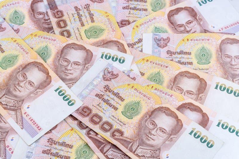 thai pengar arkivbilder
