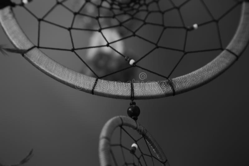 Thai people believe that bad dream will trap. In to these circle net. we hang in front of the house royalty free stock photo