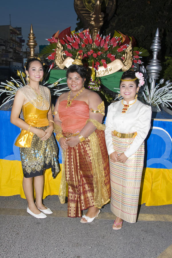 Download Thai People Float On Water A Small Rafts (Krathong Editorial Image - Image: 17094560