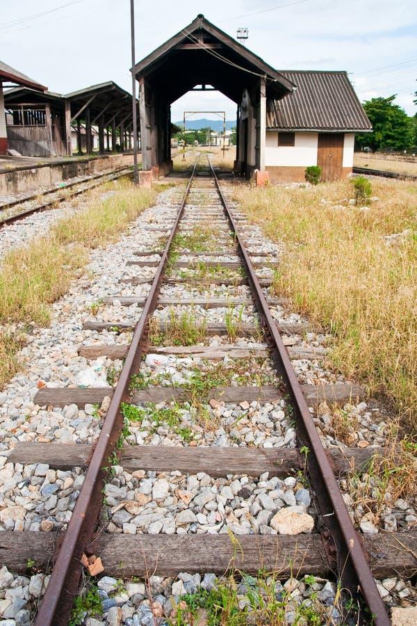 Thai railway stock photo