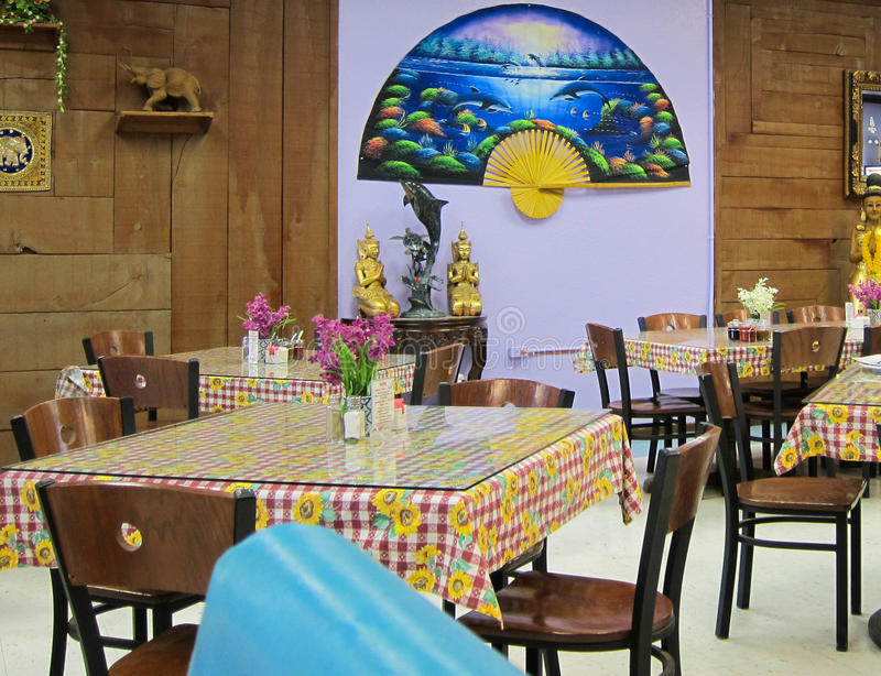 Thai restaurant royalty free stock image