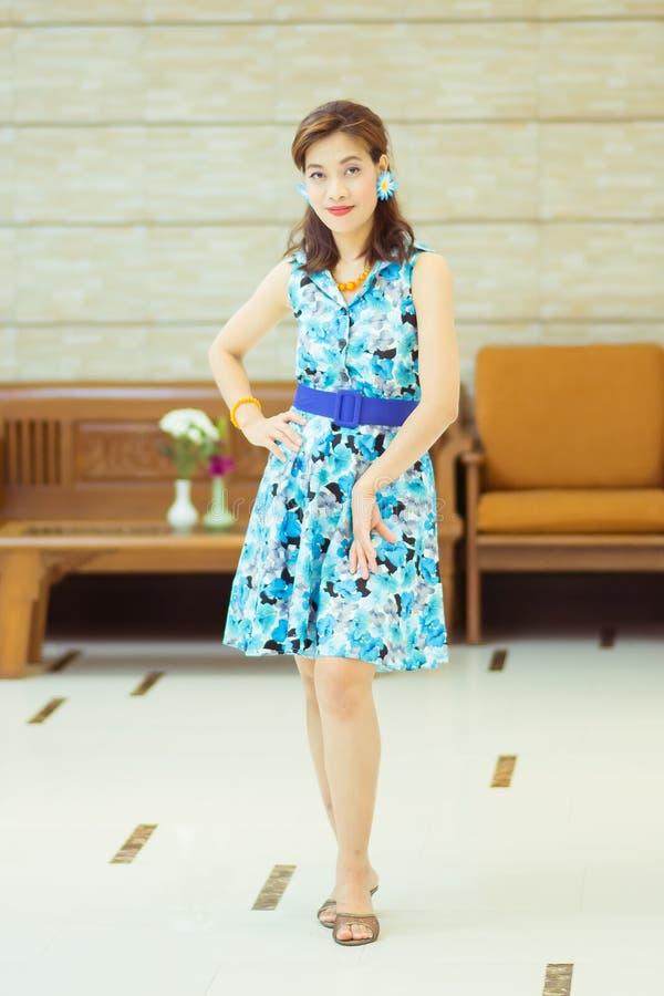 Thai Retro Dress stock photos