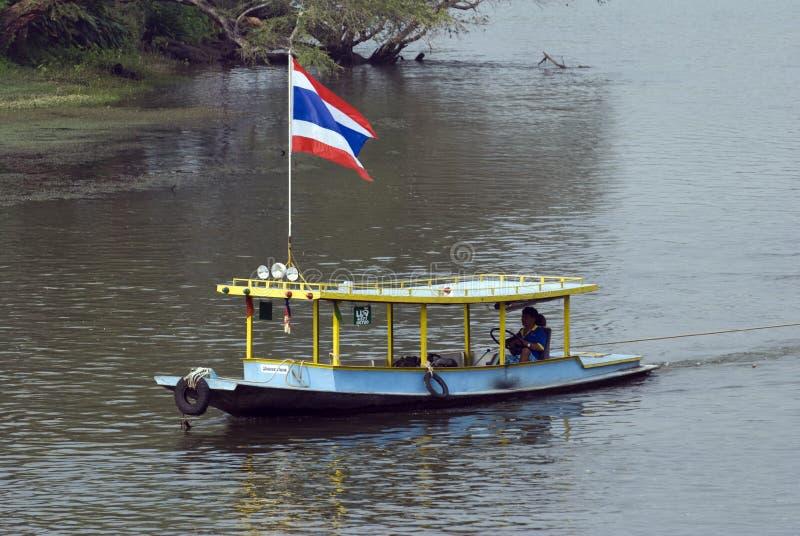 Thai River Boat Editorial Photo