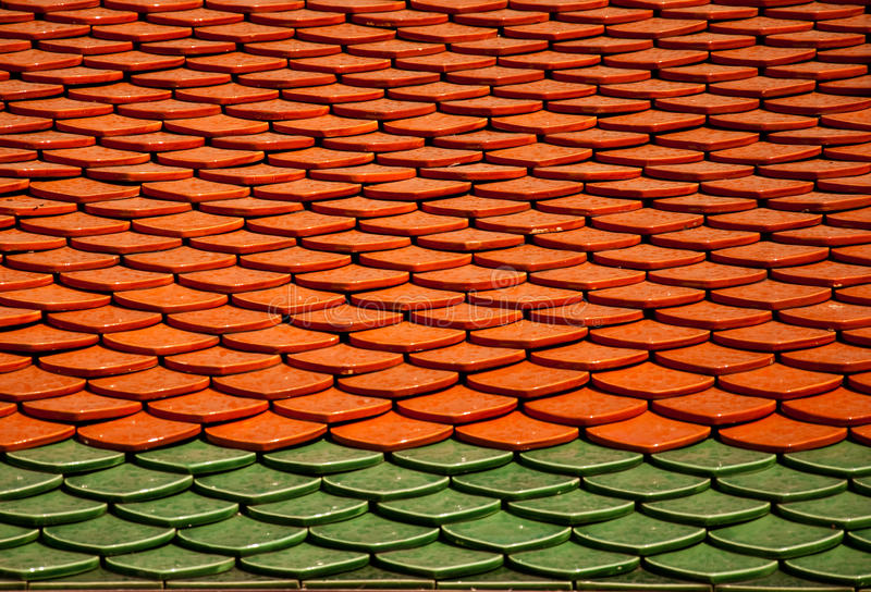 Thai Roof stock photo